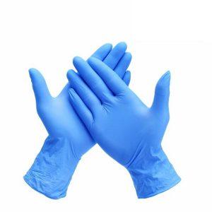 Powdered Nitrile Gloves