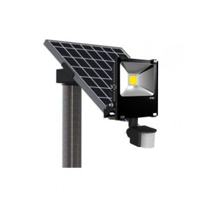 20W 2400 Lumen PIR Solar Flood Light