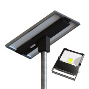 30W 3600 Lumen Solar Flood Light