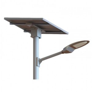 60W 7800 Lumen Solar Street Light